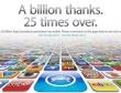 Apple cán mốc 25 tỷ lượt ứng dụng được download