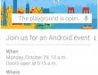 Google phát thư mời tham dự sự kiện đặc biệt ngày 29/10