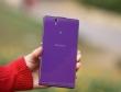 Cận cảnh smartphone Xperia Z màu tím đầu tiên tại Việt Nam