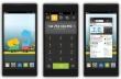 Hình ảnh giao diện MeeGo OS trên thiết bị di động