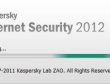 3 tháng thử nghiệm Kaspersky Internet Security 2012