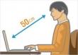 Cách ngồi máy tính đúng tư thế?