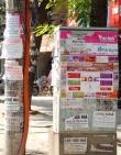 Lắp đặt trên 100 bảng rao vặt miễn phí ở nội thành Hà Nội